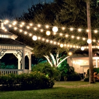 outdoor event lights
