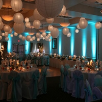 paper lanterns lighting